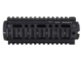 DoubleStar 2-Piece Handguard Quad Rail AR-15 Carbine Length Aluminum Matte
