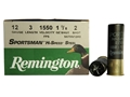 "Remington Sportsman Hi-Speed Ammunition 12 Gauge 3"" 1-1/8 oz #2 Non-Toxic Steel Shot"
