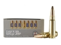 Cor-Bon Self-Defense Ammunition 7.62x39mm 125 Grain Jacketed Hollow Point Box of 20