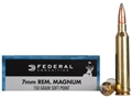 Product detail of Federal Power-Shok Ammunition 7mm Remington Magnum 150 Grain Soft Point Box of 20
