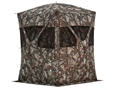 "Barronett Big Mike Super Tough Ground Blind 75"" x 75"" x 80"" Polyester Bloodtrail Camo"