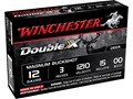 Winchester Supreme Double X Magnum Ammunition 12 Gauge 3&quot; Buffered 00 Copper Plated Buckshot 15 Pellets Box of 5