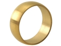 """Briley Replacement Spherical Ring .580"""" 1911 Government Stainless Steel TiN (Titanium Nitride) Coated"""