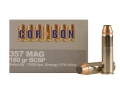 Product detail of Cor-Bon Hunter Ammunition 357 Magnum 180 Grain Bonded Core Soft Point Box of 20