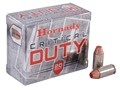 Hornady Critical Duty Ammunition 40 S&amp;W 175 Grain FlexLock Box of 20