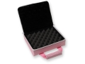 "Bulldog Hard-Sided 2 Pistol Gun Case 11"" x 9"" Nylon Pink"