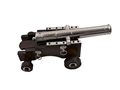 "Traditions Mini Old Ironsides Black Powder Cannon 50 Caliber 9"" Nickel Plated Barrel Hardwood Carriage"