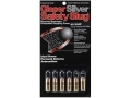 Glaser Silver Safety Slug Ammunition 40 S&W 115 Grain Safety Slug Package of 6