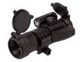 Vortex StrikeFire Red Dot Sight 30mm Tube 1x 4 MOA Red Dot with Low Weaver-Style Ring Matte