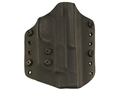 Lenwood Leather Wraith Belt Holster Right Hand Glock 26, 27, 33 Kydex Black