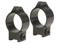 Talley 1&quot; Ring Mounts 3/8&quot; Grooved Receiver Matte Low