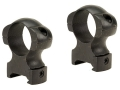"Weaver 1"" Grand Slam Top Mount Rings Matte Extra-High"