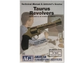 "American Gunsmithing Institute (AGI) Technical Manual & Armorer's Course Video ""Taurus Revolvers"" DVD"