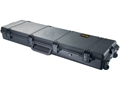 "Pelican Storm 3300 Scoped Rifle Gun Case with Solid Foam Insert and Wheels 53"" Polymer Black"