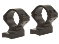 Talley Lightweight 2-Piece Scope Mounts with Integral 1&quot; Rings Browning A-Bolt Winchester Super Short Magnum (WSSM) Matte Medium