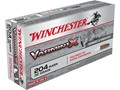 Winchester Varmint X Ammunition 204 Ruger 32 Grain Polymer Tip Box of 20