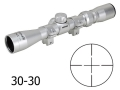 Product detail of Konus Pro Rimfire Rifle Scope 2-7x 32mm 30-30 Reticle Silver