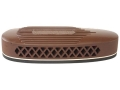 Product detail of Pachmayr S325 Deluxe Skeet Recoil Pad 1.1&quot; Brown with White Line Medium with Ribbed Face