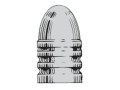 Saeco 3-Cavity Bullet Mold #442 44 Special, 44 Remington Magnum (430 Diameter) 246 Grain Round Nose