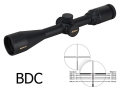 Nikon Monarch Rifle Scope 3-12x 42mm Side Focus BDC Reticle Matte