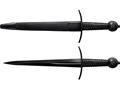 "Cold Steel MAA Arming Dagger 13.5"" 1090 Carbon Steel Blade Steel Handle Black"