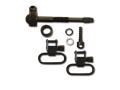 "GrovTec Sling Swivel Studs with 1"" Locking Swivels Set Remington 742 BDL Steel Black"