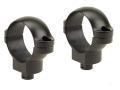 "Leupold 1"" Quick-Release Rings Matte Medium"