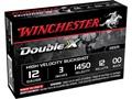 """Winchester Double X Magnum Ammunition 12 Gauge 3"""" Buffered 00 Copper Plated Buckshot 12 Pellets"""