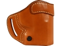 BLACKHAWK! Compact Askins Belt Holster Right Hand Springfield Armory XD Service and Compact Leather Brown