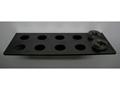 Inline Fabrication Shellholder Rack Black