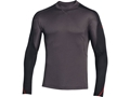 Under Armour Men's ColdGear Wool Crew Base Layer Shirt Wool and Polyester Blend Charcoal
