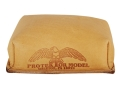 Product detail of Protektor Small Brick Rear Shooting Rest Bag Leather Tan Filled
