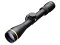 Leupold VX-6 Rifle Scope 30mm Tube 2-12x 42mm Custom Dial System (CDS) FireDot Illuminated Duplex Reticle Matte