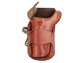 "Ross Leather Classic Belt Holster Left Hand Single Action 4-5/8"" Barrel Leather Tan"