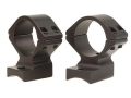 Talley Lightweight 2-Piece Scope Mounts with Integral 1&quot; Rings Cooper 22 Matte Medium