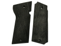 Vintage Gun Grips Star M Polymer Black