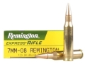 Product detail of Remington Express Ammunition 7mm-08 Remington 120 Grain Hollow Point Box of 20