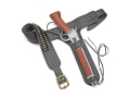 Collector's Armoury Replica Mare's Leg Holster Leather Black