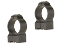 Product detail of Warne 30mm Permanent-Attachable Ring Mounts Tikka Matte High