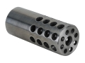 "Vais Muzzle Brake 13/16"" 223 Caliber 5/8""-32 Thread .812"" Outside Diameter x 1.950"" Length Stainless Steel"