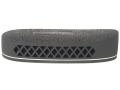 "Pachmayr F325 Deluxe Field Recoil Pad Grind to Fit 1.15"" Large with White Line with Stippled Face Black"