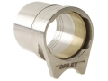 "Briley Oversized Spherical Barrel Bushing with .579"" Ring 1911 Government Stainless Steel"