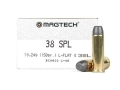 Magtech Cowboy Action Ammunition 38 Special 158 Grain Lead Flat Nose Box of 50