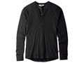 Mountain Khakis Men's Rendezvous Henley Shirt Long Sleeve Merino Wool
