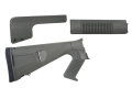 Mesa Tactical Urbino Tactical Stock with Adjustable Cheek Rest & Limbsaver Recoil Pad and Forend Benelli M4 12 Gauge Synthetic Coyote OD Green