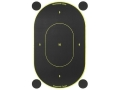 Birchwood Casey Shoot-N-C Target 7&quot; Silhouette Package of 10 with 48 Pasters