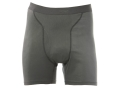 Sitka Gear Men's Core Boxer Underwear Polyester Charcoal Large 34-37
