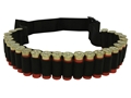MidwayUSA Shotshell Ammunition Carrier Belt 25-Round Nylon Black