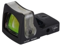 Trijicon RMR Reflex Red Dot Sight Dual-Illuminated 9 MOA Amber Dot Matte