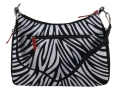Gun Tote&#39;N Mamas Basic Hobo Handbag Leather Zebra-Striped